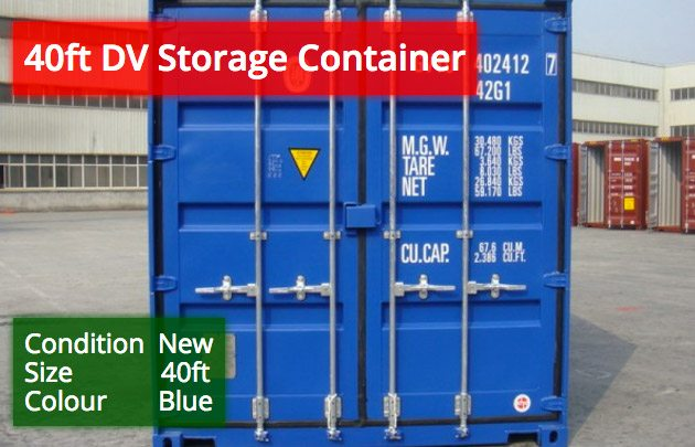 40ft DV Container