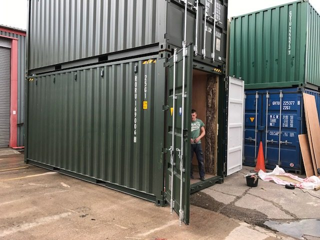Secured Containers
