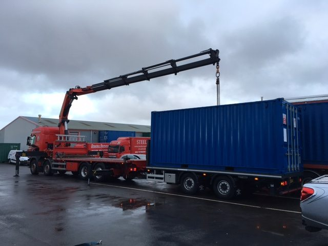 Delivery of Containers