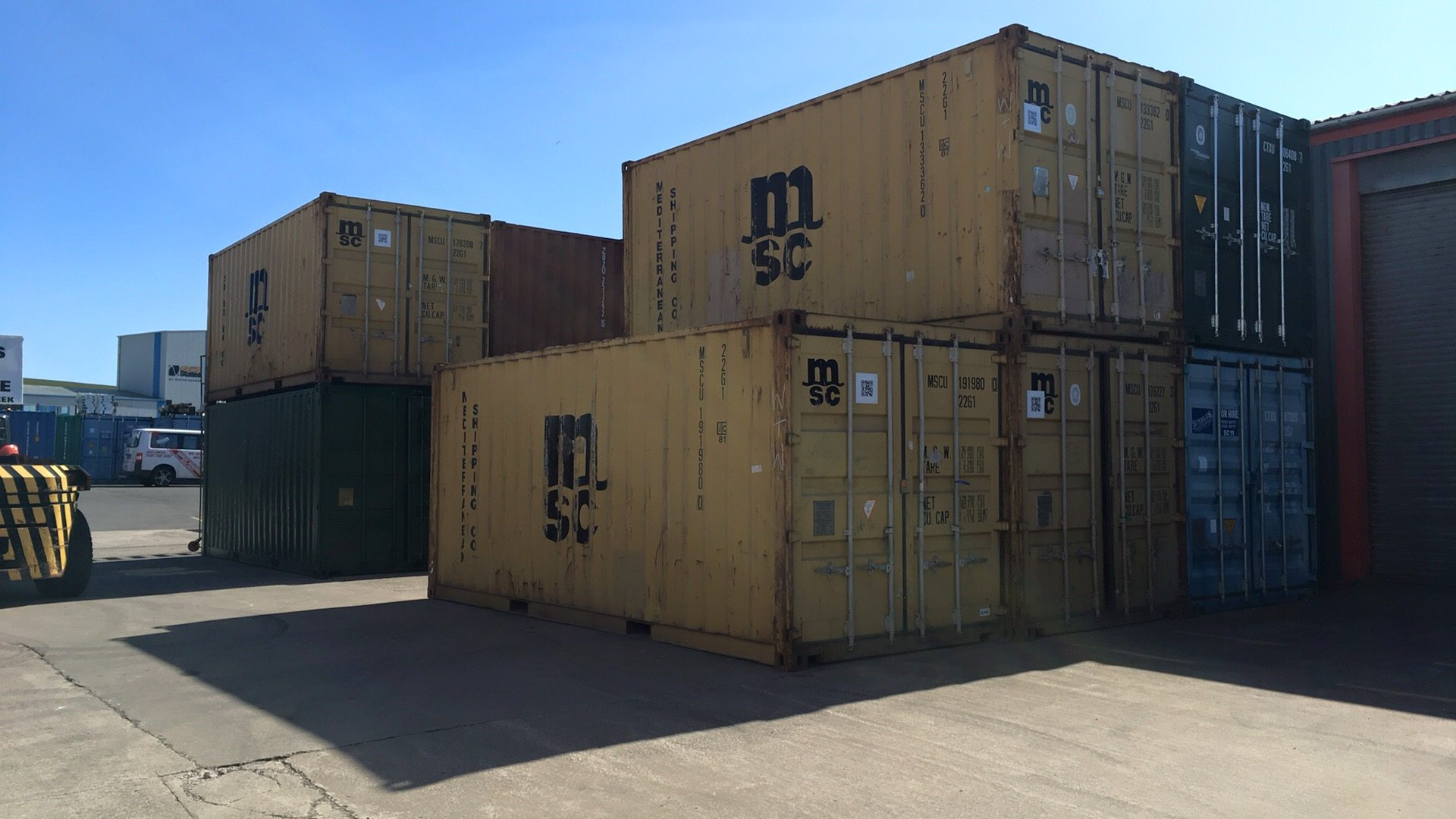 8ft Storage & Shipping Container