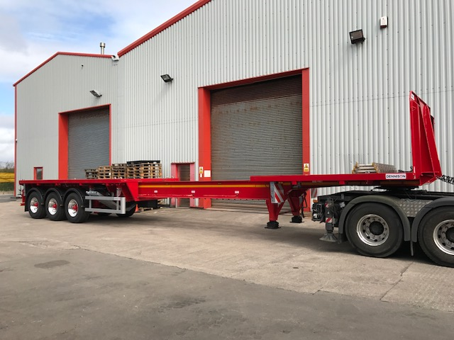 Plant trailers, low loaders, boat trailers