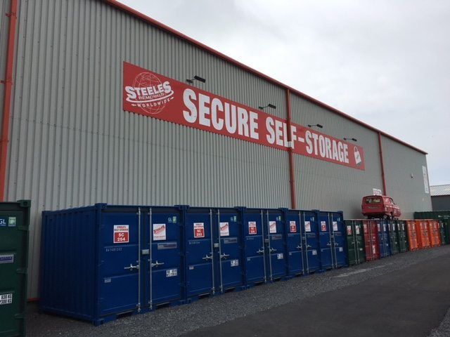 Steel Storage Container Hire Shipping Containers Steeles Containers