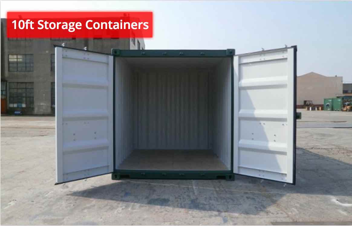 10ft HC Storage Containers