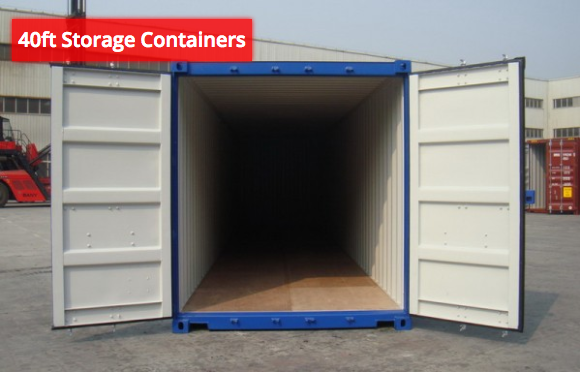 40ft HC Storage Containers