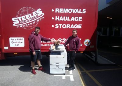 Steeles Storage Containers Charity donation to local hospital radio
