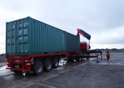 First container deliveries - UK EPC