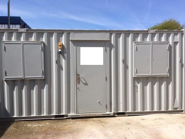 20ft Open Side Containers